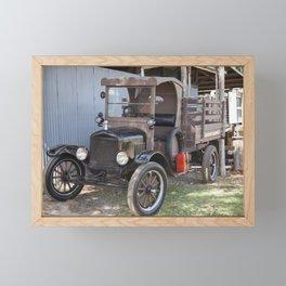 Old Form of Livestock Transport Framed Mini Art Print
