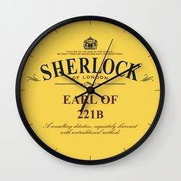 Earl of 221B Wall Clock