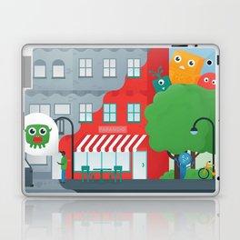 Paranoid Street Laptop & iPad Skin