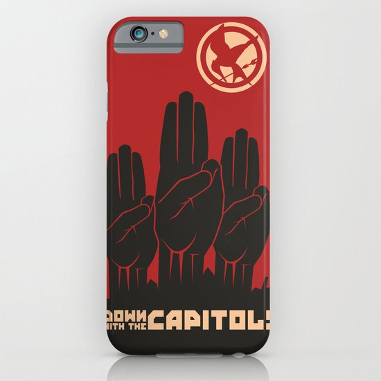 Down With The Capitol - Propaganda iPhone & iPod Case