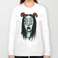 supreme Long Sleeve T-shirts featuring succubus supreme by Creaturetown