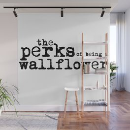 The perks of being a wallflower. Wall Mural
