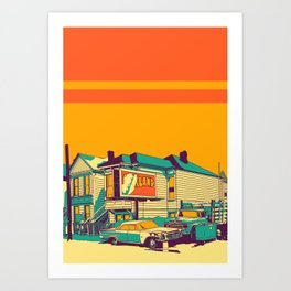 Oakland Art Print