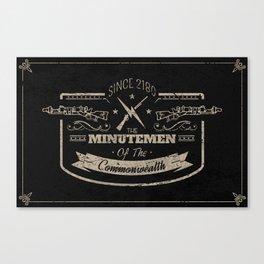 Minutemen of the Commonwealth Canvas Print