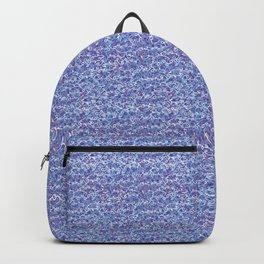 Cool blue abstract thread design Backpack