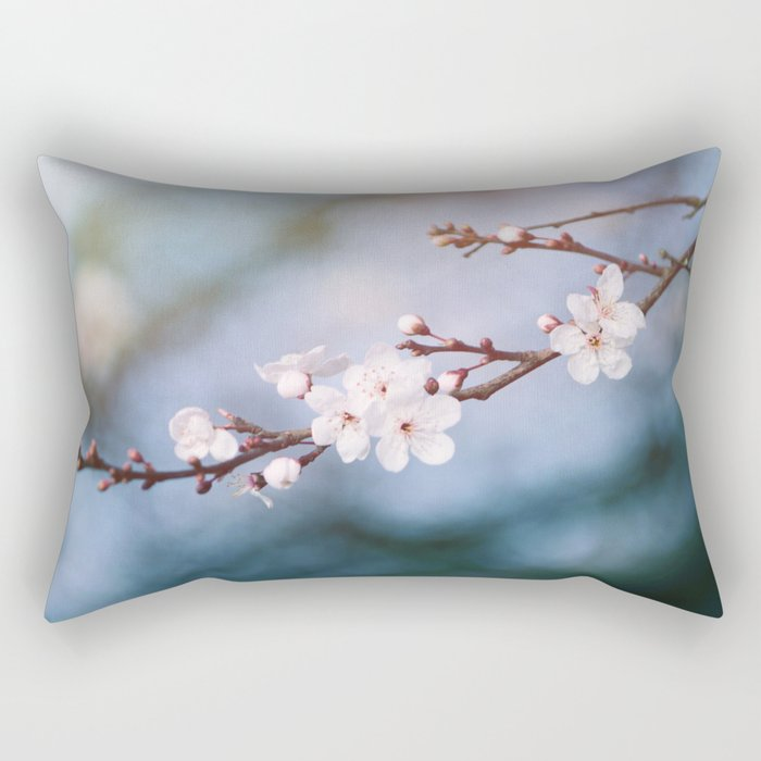 First Blossom Rectangular Pillow