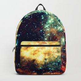 galaxy nebula stars Backpack