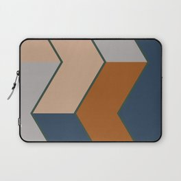 Modern Fall Winter Color Pattern Laptop Sleeve