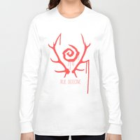 true detective Long Sleeve T-shirts featuring true detective by Molnár Roland