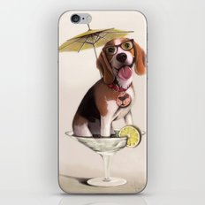 Tessi the party Beagle iPhone & iPod Skin