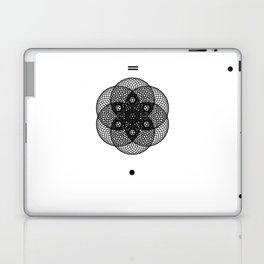 Mesh Geometry II White Laptop & iPad Skin