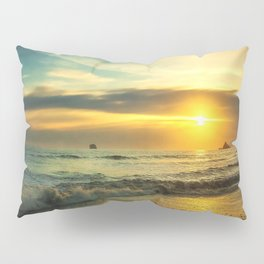 Pacific Coast Sunset Pillow Sham