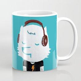 Metal Rock Dog Coffee Mug