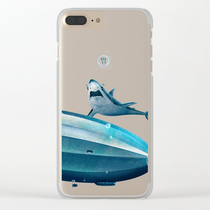 Weird Waters Clear iPhone Case