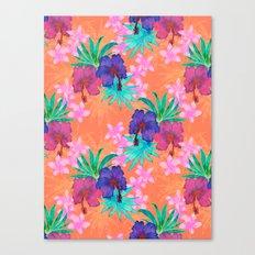 Heidi Tropical Canvas Print