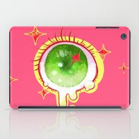 cyclops iPad Cases featuring cyclops eye by isthatwhatyoumint