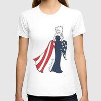 patriotic T-shirts featuring Patriotic Sophie by philoSophie's