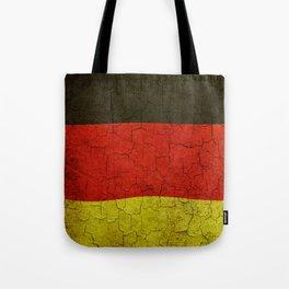Cracked Germany flag Tote Bag