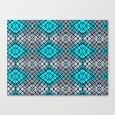 Blue eyes watching over you Canvas Print