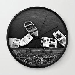 Boats & Coast Wall Clock