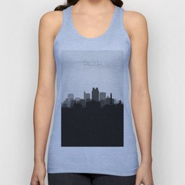 City Skylines: Raleigh Unisex Tank Top