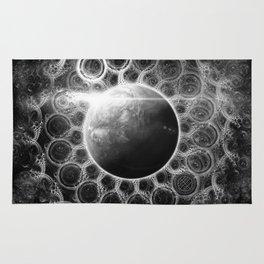 Beautiful Deep Dream Fractal Mandala of Kepler-62e Rug
