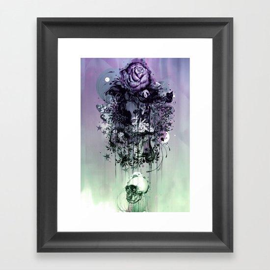 Doom and Bloom Framed Art Print