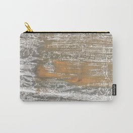 Gray stained watercolor pattern Carry-All Pouch