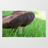 mushroom Area & Throw Rugs featuring Mushroom by The Wellington Boot