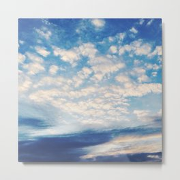 Sound of Clouds Metal Print