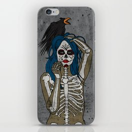 Lady Bones 2 iPhone Skin