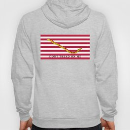 First Navy Jack of the United States of America flag Hoody