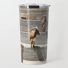 goat animal mammal nature Travel Mug