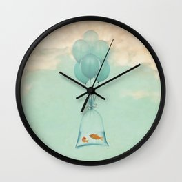 Flight to Freedom (RM) Wall Clock
