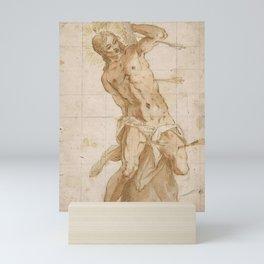 "Tintoretto (Jacopo Robusti) ""Saint Sebastian"" Mini Art Print"