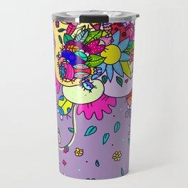 bugging flowers! Travel Mug