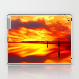 Reflections of Sunset Laptop & iPad Skin