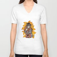 wasted rita V-neck T-shirts featuring Rita by Freja Friborg