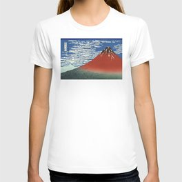 South Wind, Clear Sky (Gaifū kaisei or 凱風快晴) T-shirt