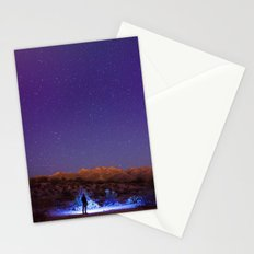 Exploring the night Stationery Cards