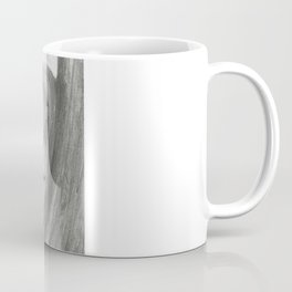 A Cool, Quieting Thought (Girl by tree on the beach) Coffee Mug