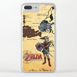 MAP OF TWILIGHT PRINCESS Clear iPhone Case