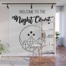 Welcome to the Night Court | Acomaf Wall Mural