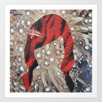 coral freek Art Print