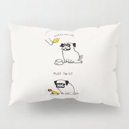 Expectation and Plot Twist Pillow Sham