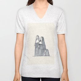 Three Nuns Unisex V-Neck