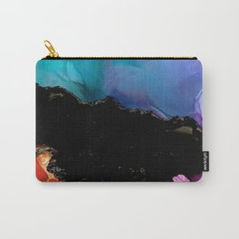 Mountainside Abstract Carry-All Pouch