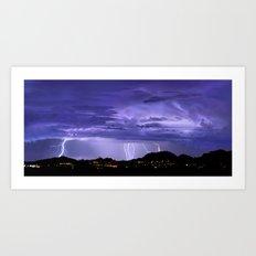 Monsoon 2015 Art Print