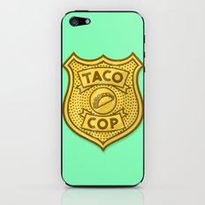 Taco Cop iPhone & iPod Skin