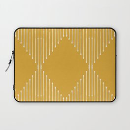 Geo / Yellow Laptop Sleeve
